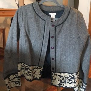 Sundance tweed opera jacket, never worn